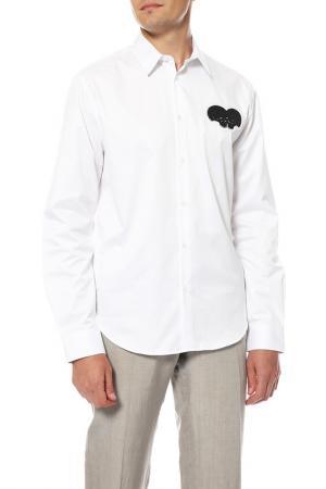 Рубашка Markus Lupfer. Цвет: белый