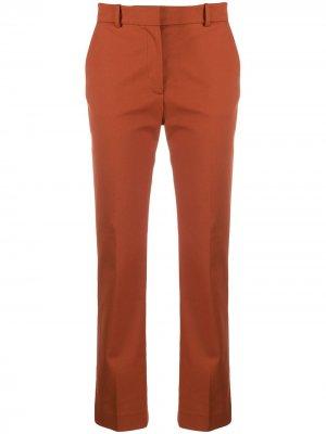 Укороченные брюки Joseph. Цвет: оранжевый