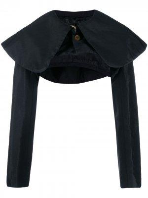 Болеро с объемным воротником Comme Des Garçons. Цвет: черный