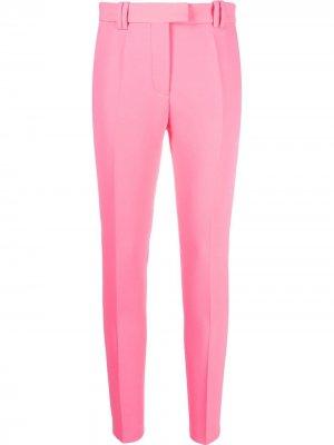 Укороченные брюки кроя слим Barbara Bui. Цвет: розовый