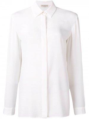 Рубашка с длинными рукавами Emilio Pucci. Цвет: белый