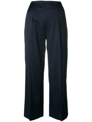 Cropped trousers Chalayan. Цвет: синий