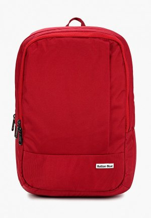Рюкзак Button Blue. Цвет: красный