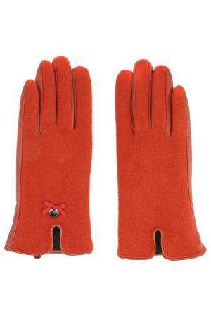 Перчатки Marc Cain. Цвет: красный