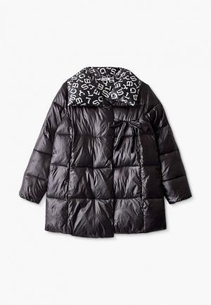 Куртка утепленная Byblos. Цвет: черный