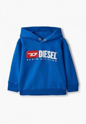Худи Diesel. Цвет: синий