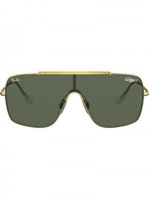Солнцезащитные очки Wings II Ray-Ban. Цвет: золотистый