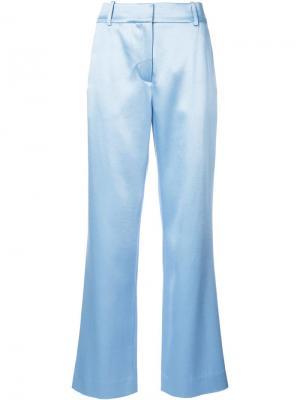 Расклешенные брюки строгого кроя Sies Marjan. Цвет: синий