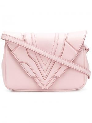 Felina cross body bag Elena Ghisellini. Цвет: розовый