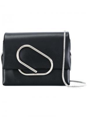 Микро сумка через плечо Alix 3.1 Phillip Lim. Цвет: черный