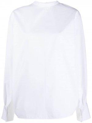 Рубашка строгого кроя Jil Sander. Цвет: белый