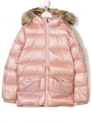 TEEN hooded padded jacket Pyrenex Kids. Цвет: розовый