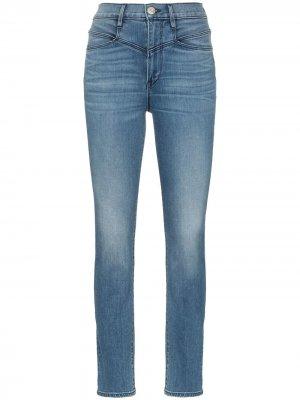 Прямые джинсы Jesse с завышенной талией 3x1. Цвет: синий