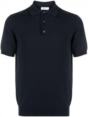 Рубашка поло с короткими рукавами Closed. Цвет: синий