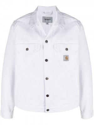 Джинсовая куртка Stetson Carhartt WIP. Цвет: черный