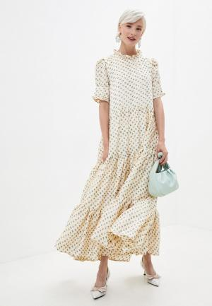 Платье Sister Jane. Цвет: бежевый