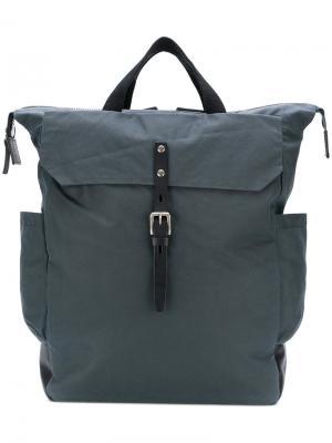 Рюкзак с застежкой-молнией Ally Capellino. Цвет: серый