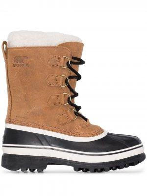 Ботинки Caribou SOREL. Цвет: коричневый