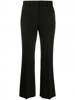 Расклешенные брюки MSGM. Цвет: черный