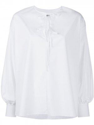Блузка с завязками Jason Wu. Цвет: белый