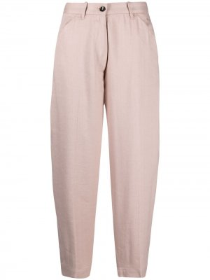 Укороченные брюки свободного кроя Nine In The Morning. Цвет: розовый