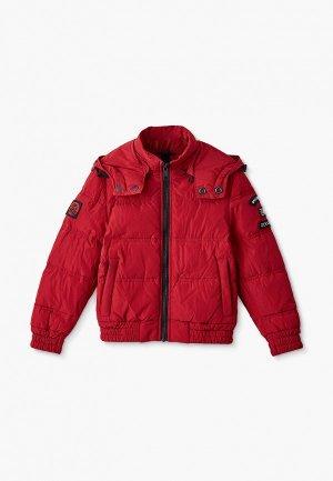 Куртка утепленная Antony Morato. Цвет: красный