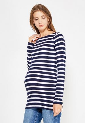 Лонгслив Gap Maternity. Цвет: синий