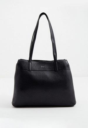 Сумка DKNY. Цвет: черный