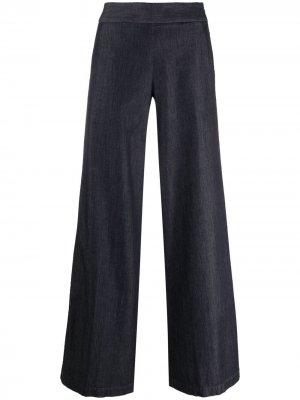 Широкие брюки Pt01. Цвет: синий