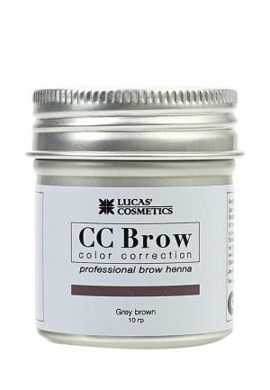 Хна для бровей CC Brow. Цвет: серый