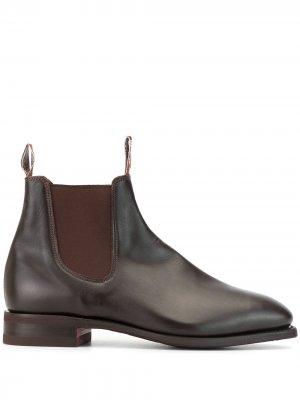 Ботинки челси Comfort Craftsman R.M.Williams. Цвет: коричневый
