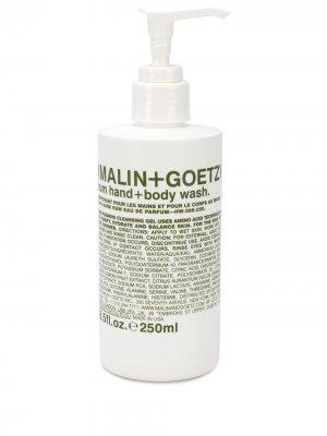 Гель для тела и рук Rum MALIN+GOETZ. Цвет: белый