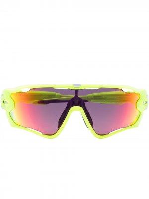 Солнцезащитные очки Jawbreaker Retina Burn Prizm Road Oakley. Цвет: желтый