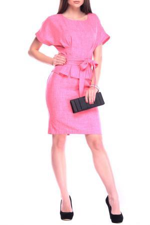Платье REBECCA TATTI. Цвет: бордовый