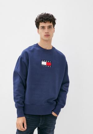 Свитшот Tommy Jeans. Цвет: синий
