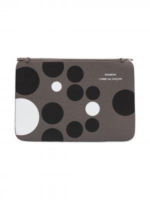 Чехол для MacBook Air 11 дюймов из коллаборации с Côte & Ciel Comme Des Garçons Wallet. Цвет: серый