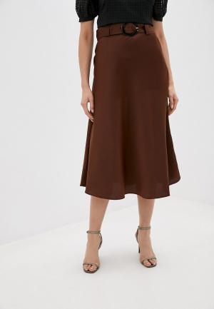 Юбка Twist & Tango. Цвет: коричневый