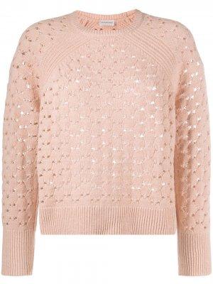 Вязаный свитер Acis By Malene Birger. Цвет: розовый
