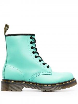 Ботинки 1460 на шнуровке Dr. Martens. Цвет: зеленый
