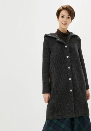 Пальто Adzhedo. Цвет: серый