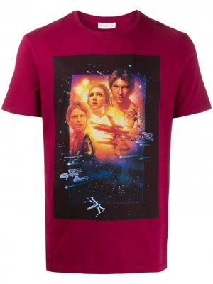 Футболка Star Wars Etro. Цвет: красный