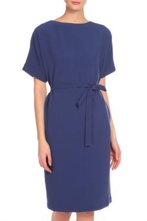 Платье Cyrille Gassiline. Цвет: кобальтовый