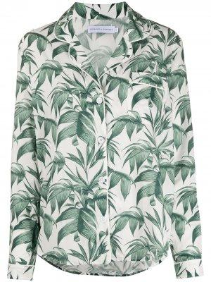 Пижама Byron Leaf Desmond & Dempsey. Цвет: зеленый