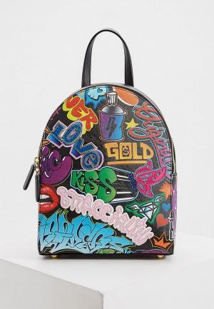 Рюкзак Braccialini. Цвет: разноцветный