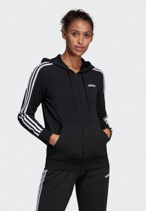 Толстовка adidas. Цвет: черный