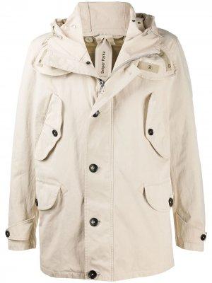 Куртка с капюшоном Ten C. Цвет: нейтральные цвета