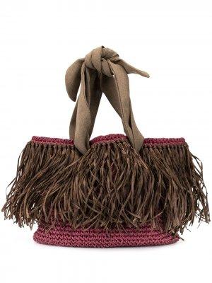 Пляжная сумка Malibu 0711. Цвет: фиолетовый