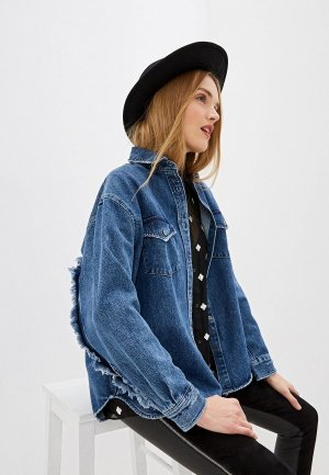 Рубашка джинсовая Iro. Цвет: синий