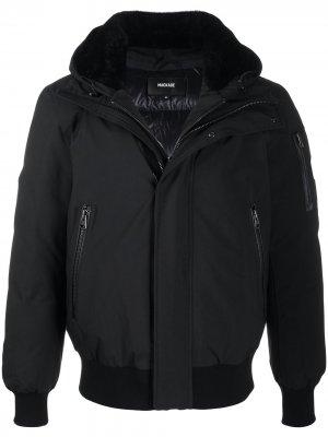 Куртка Oscar с капюшоном Mackage. Цвет: черный