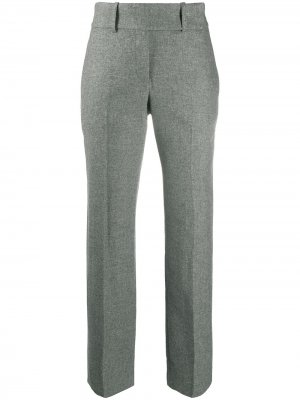 Строгие брюки прямого кроя Ermanno Scervino. Цвет: серый